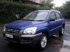 kia sportage - 2.0l 2000 cc blue