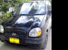 hyundai santro-club - 1.0l 1000 cc black