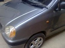 hyundai santro-club - 1.0l 1000 cc grey