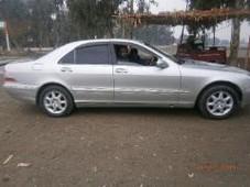 mercedes benz s class - 2.2l 2200 cc silver
