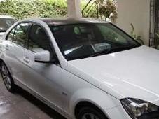 mercedes benz c class - 1.8l 1800 cc white