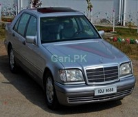 mercedes benz s class 500sel 1999 for sale in karachi