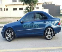 mercedes benz c class c180 2002 for sale in islamabad