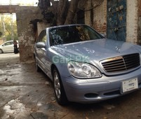 mercedes benz s class s 320 2000 for sale in islamabad