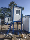 office containers. portable washrooms customisable cabins
